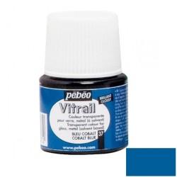 Vitrail Bleu Cobalt