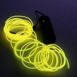 Fil Electro Luminescent Jaune