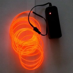 Fil Electro Luminescent Bleu