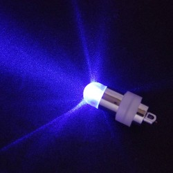 Blue standalone waterproof LED