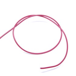 Cable unifilaire rouge
