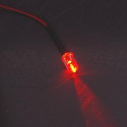 LED precablato rosso arancio