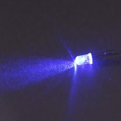 LED précablée bleue