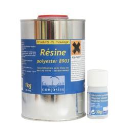Résine Polyester 1kg