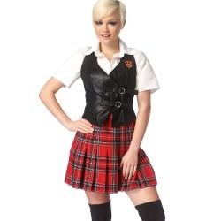 Patrón de uniforme escolar