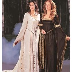 Pattern - medieval dresses