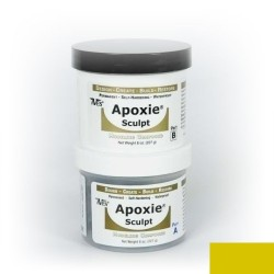 Apoxie sculpt - yellow