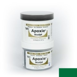 Apoxie sculpt - green