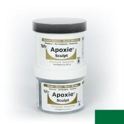 Apoxie sculpt - vert