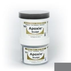 Apoxie sculpt - silver