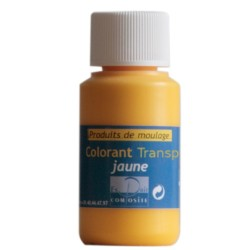 Colorant transparent jaune or