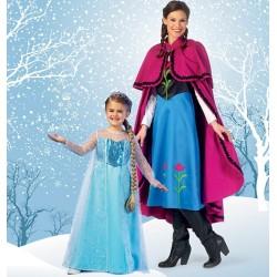 Patron type Frozen : Anna /...