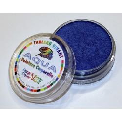 Aqua  métal bleu