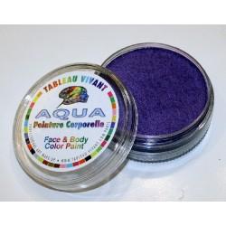 Aqua métal violet