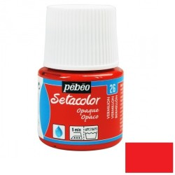 Fabric paint - vermilion