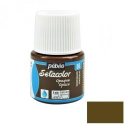 Fabric paint - chocolate