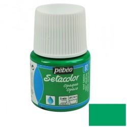 Peinture textile - vert...