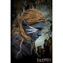 Grandes oreilles elfe noir