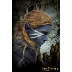 Large dark elf ears