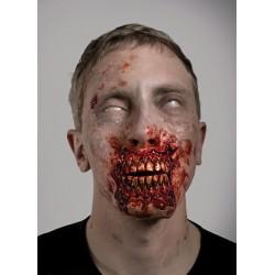 Zombies expuestos dientes