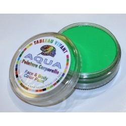 Aqua neón verde