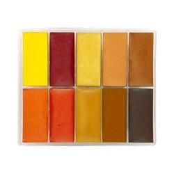 10-color Fard Creme...