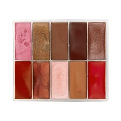 Palette lipsticks 10 colors