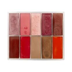 Palette lipsticks 10 colors