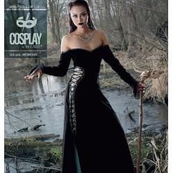 Pattern - black magic dress