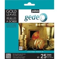Foil gilding Gold