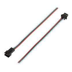 Conector de tres cables