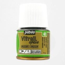 Vitrail Or chaud